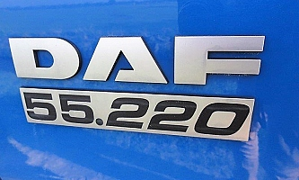 DAF LF 55.220 chassis wielbasis 360cm 15T