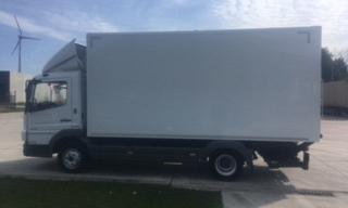 Mercedes Atego 816 koffer 5.1m E5