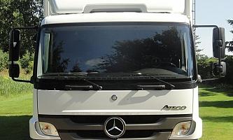 Mercedes Atego koffer 5m 2012