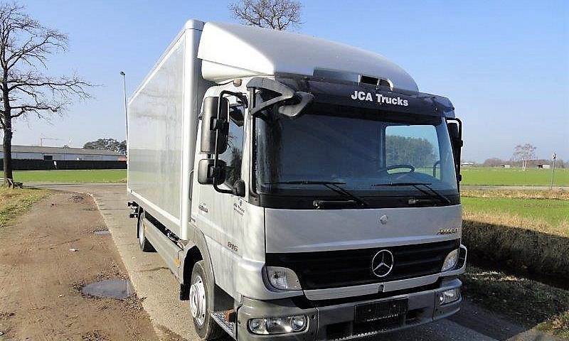 Mercedes Atego 816 meubelkoffer euro 5 2