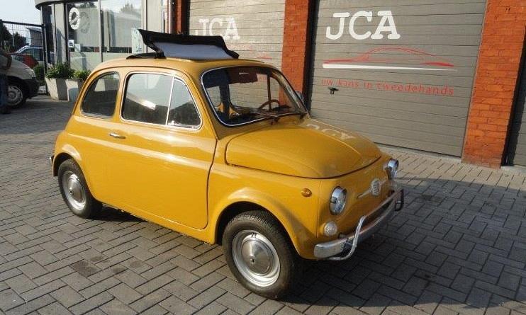 Fiat 500 oldtimer 1974 1