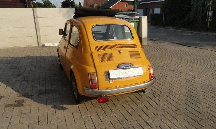 Fiat 500 oldtimer 1974 3