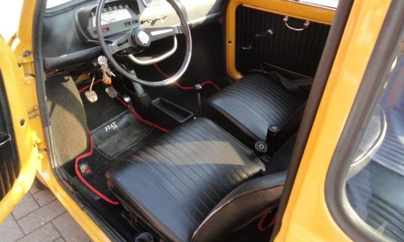 Fiat 500 oldtimer 1974 5