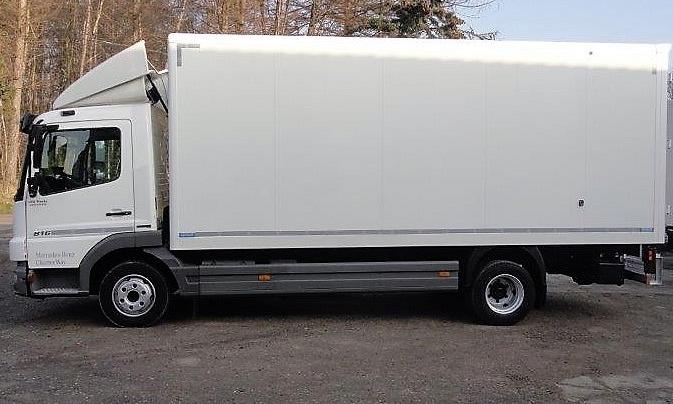Mercedes Atego 816 koffer 5.5m 2