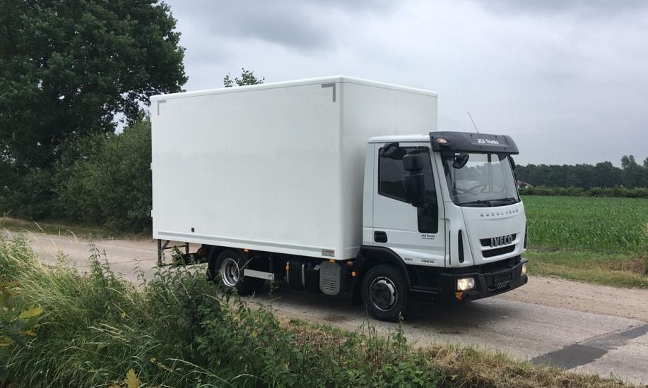 Iveco Eurocargo 75E14 koffer 4.3m 4