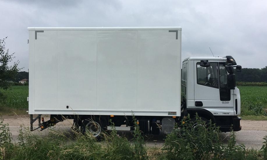 Iveco Eurocargo 75E14 koffer 4.3m 5