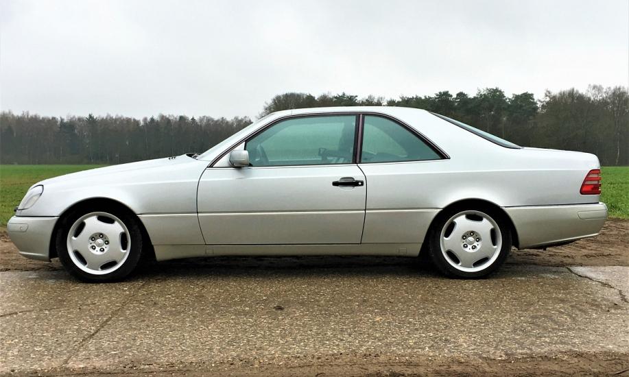 Mercedes CL 500 10