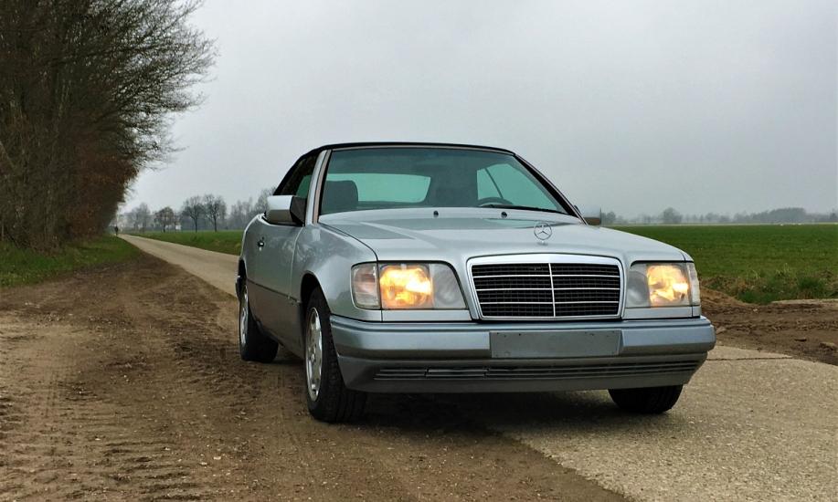Mercedes E cabriolet 4