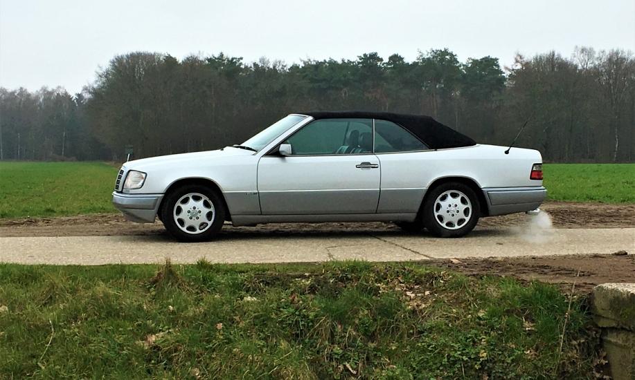 Mercedes E cabriolet 5