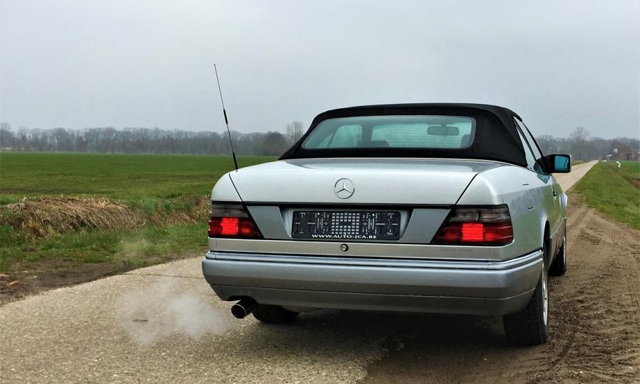 Mercedes E cabriolet 6