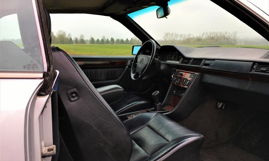 Mercedes E cabriolet 7