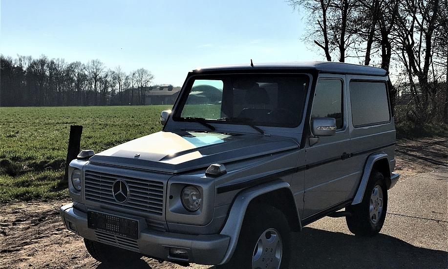 Mercedes G 270 cdi 7