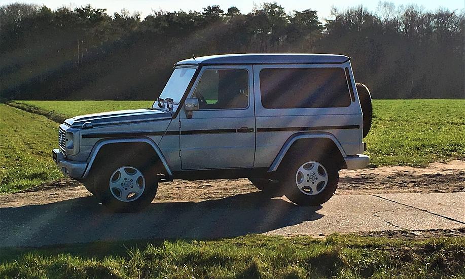 Mercedes G 270 cdi 8