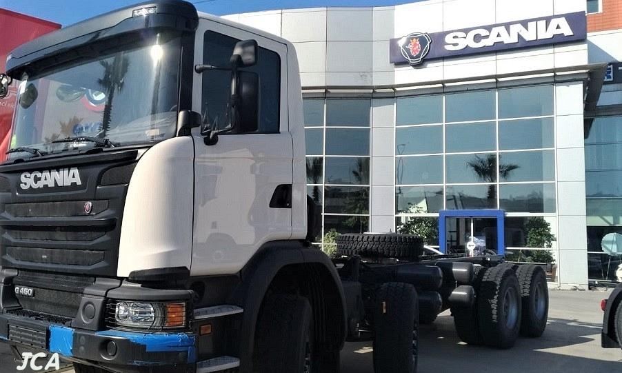 Scania G450  8x4 2