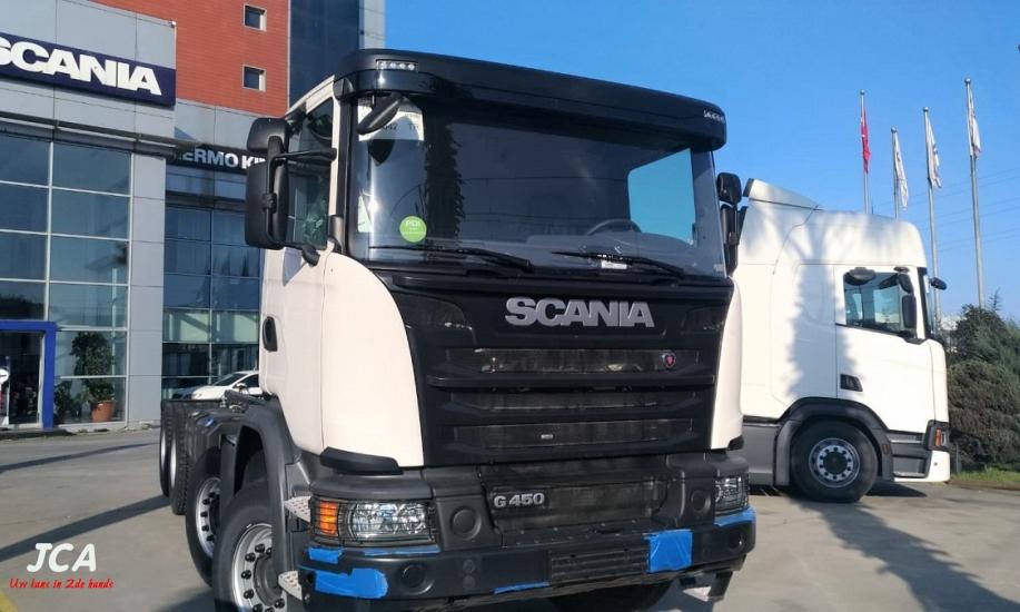 Scania G450  8x4 1