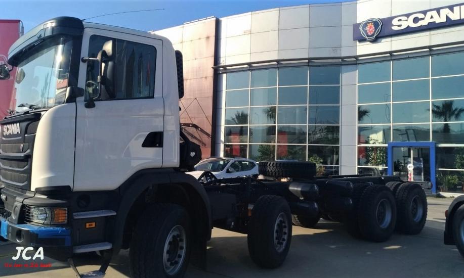 Scania G450  8x4 8