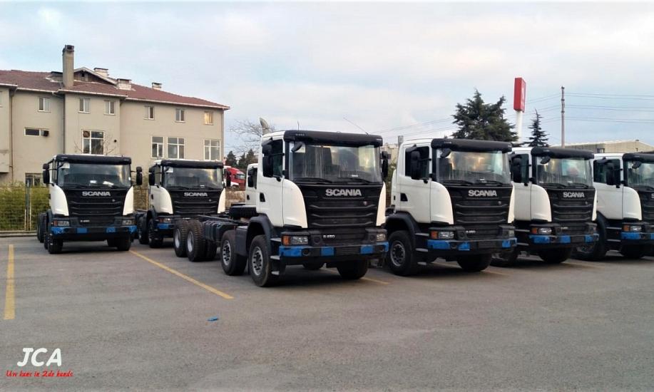 Scania G450  8x4 13